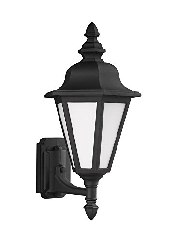 Sea Gull Lighting 89824EN3-12 Brentwood Outdoor Wall Sconce, 1-Light LED 9.5 Watts, (12 Brentwood 1 Light)