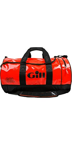 Gill Luggage - Gill 60L Red Tarp Barrel Bag, One Size