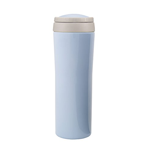 Timolino VMB-25TGPB 8.6-Ounce Vacuum Metro Mug Tall with Infuser, Pastel Blue (Infuser Timolino)