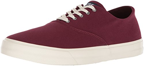 Sperry Top-sider Hommes Capitaines Cvo Sneaker Vin