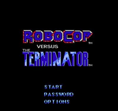 Video Game Card Robocop Vs The Terminator 60 Pin Card for 8 Bit Subor Player