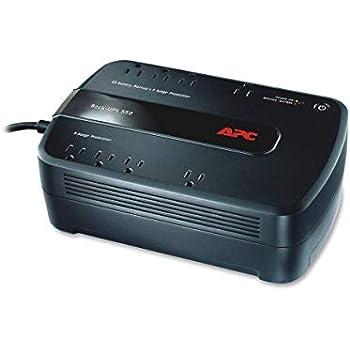 APC UPS Battery Backup & Surge Protector, 650VA Uninterruptible Power Supply (BE650G1)