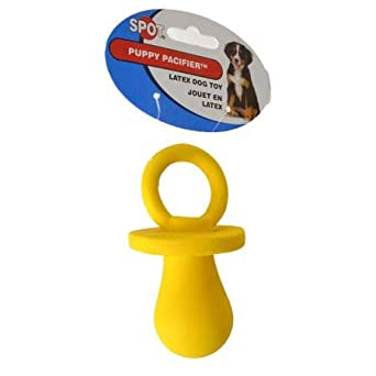 Amazon.com: Spot Spotbites - Chupete de látex para cachorro ...