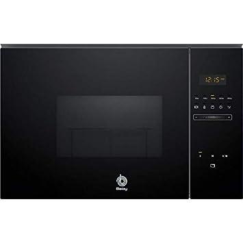 Balay 3CG5172N0 - Microondas integrable / encastre con grill, 800 W / 1000 W , color negro