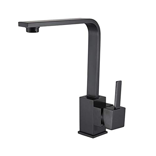 Cold And Hot Water Tap Single Handle Sink Faucet Brass Waterfall Spout Faucet Applicable Kitchen