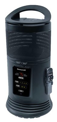 Honeywell Heat (Honeywell Ceramic Surround Heat Whole Room Heater w/ Remote Control - Black, HZ-445R)