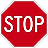 STOP Signs for Sale - 30x30- Diamond Grade Reflective STOP Sign
