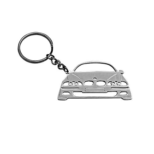 Wall of Dragon Fashion Car Styling Decor Accessories Creative New 304 Stainless Steel Key Chain for BMW M5/E39 Key Ring by Wall of Dragon
