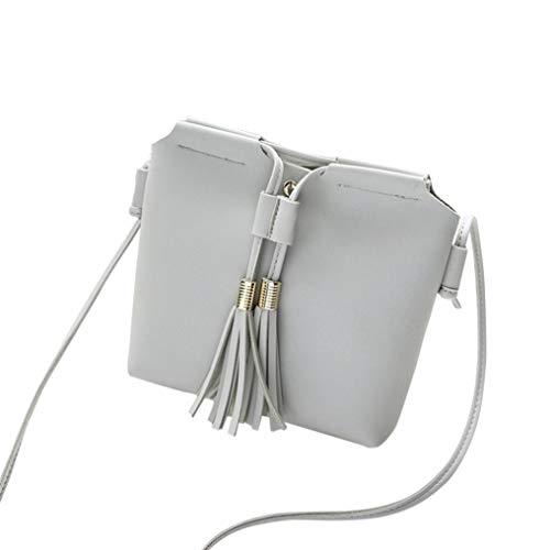Phone Women Black Bag Crossbody Fashion Gray Coin Shoulder Messenger Kanpola RqPfYAn