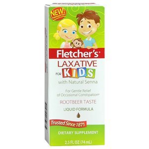 PACK OF 3 EACH FLETCHERS CASTORIA CHILD LAX 2.5OZ PT#31074200321 (Best Laxative For Kids)