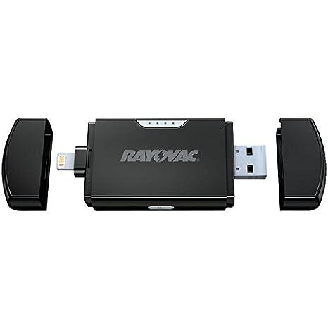 Amazon.com: Rayovac Ps78 800Mah - Cargador portátil de iones ...