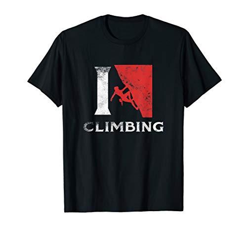 Climber Tee Shirt Love Climbing Sport Traning Gift -