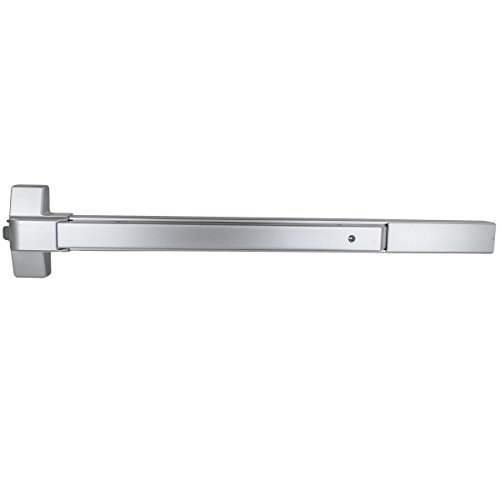 - Global Door Controls 36 in. Aluminum Fire Rated Touch Bar Exit Device