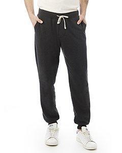 Alternative Mens Dodgeball Eco-Fleece Pants Large Eco True Black by Alternative