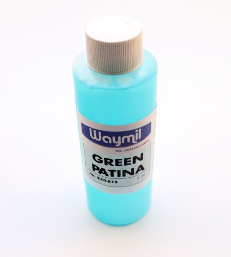 Green Patina Solution by Waymil