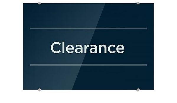 CGSignLab 5-Pack 16x16 Entrance Classic Navy Premium Acrylic Sign