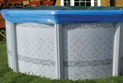 Winter Pool Cover Seal - for Above Ground Pools by Solutions Group