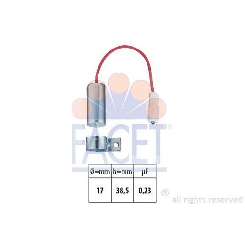 Impianto daccensione Facet 0.0339 Condensatore