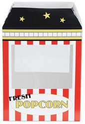 Popcorn Machine Centerpiece (Sold by 1 pack of 12 items) PROD-ID : 1906161