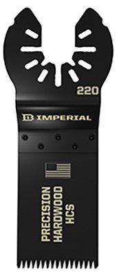Imperial Blades IBOA220-1 Oscillating Tool Blade, Universal Anchor - Quantity 25