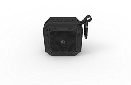 TECHQ HyrdoSound Sport - Waterproof (IP67) Outdoor Bluetooth Speaker 5W - 16 hours of play time by TECHQ (Image #1)