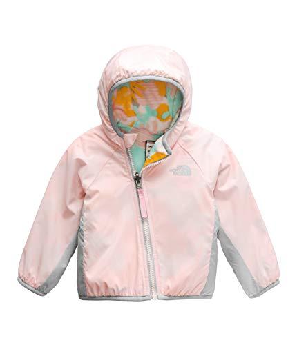 Fleece Reversible Jacket - The North Face Kids Unisex Reversible Breezeway Jacket (Infant) Pink Salt 6-12 Months