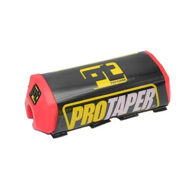 (Wincom Dishman Frames & Fittings Zs-Racing Pro Taper Handlebar Bar Pad Fat Bar Pad Chest Protector Cross Bar Fit 1-1/8 Handle Bar Motorcycle Dirt Bike Pit Bike - (Color: Red))