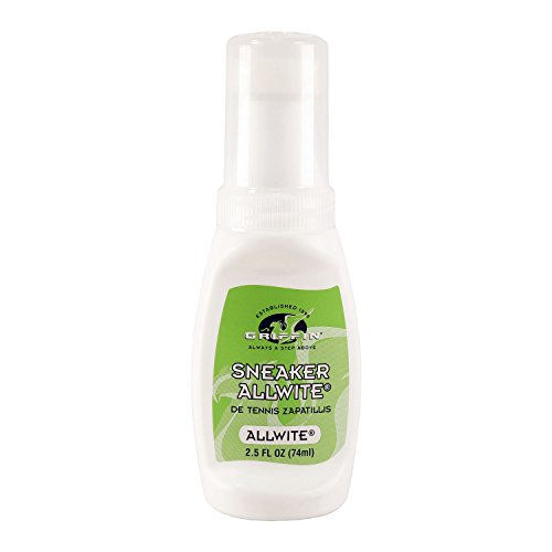 Griffin Shoe Care - Sneaker AllWite - Whitener for Tennis Shoes and Sneakers 2.5 FL OZ