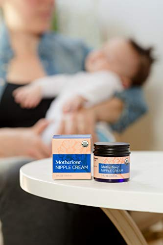 Large Product Image of Motherlove Nipple Cream Certified Organic Salve for Sore Cracked Nursing Nipples, 1 Oz.