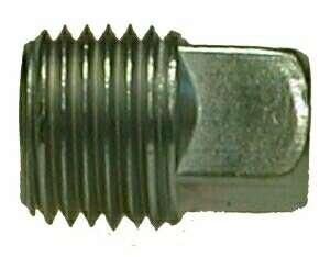 Midland Metal 66671 Steel 1/4 Galv Sq Hd Steel Plug (Pack Of 10)