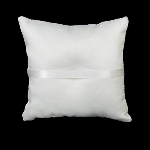 White-Double-Heart-Rhinestone-Wedding-Ring-Pillow-6-inch-x-6-inch