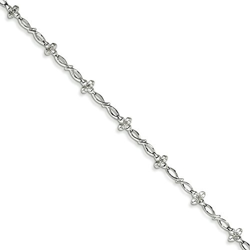 Bracelet en Argent Sterling Diamant
