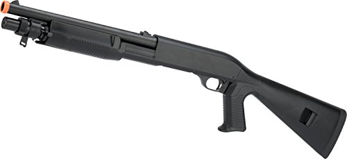 Evike - CYMA M3 3-Round Burst Multi-Shot Shell Loading Airsoft Shotgun (Model: Full Stock CQB) (Best Airsoft Gun For Cqb And Field)