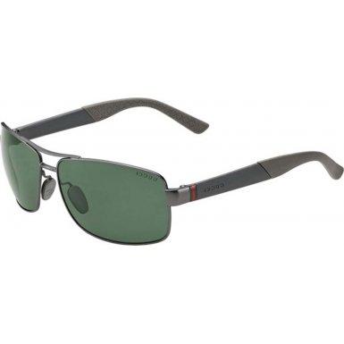 Gucci GG2234/S Sunglasses-08EB Semi Ruthenium (UC Green Polarized Lens)-63mm