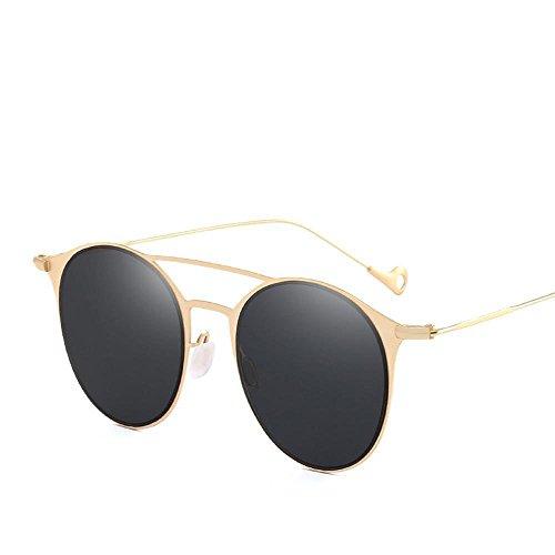 Aoligei Lunettes de mode lumière colorée film soleil Chao hommes et plat lunettes de soleil femmes rr3MY