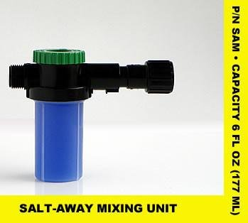 Unit Flush - SALT-AWAY PRODUCTS 6407621 SALT-AWAY PRODUCTS Removing mixing unit (dispenser), 6 oz