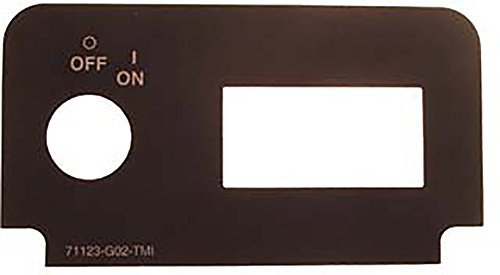 EZGO TXT (1994-Up) Gas And Electric Golf Cart Key Switch Decal - Without Light