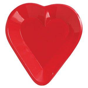 Heart Mini Snack Tray - Creative Converting - Heart Mini Snack Tray