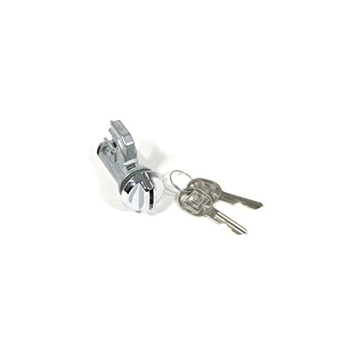 Eckler's Premier Quality Products 50209446 Chevelle Glove Box Lock Set With Late Style - Lock Glove Box Truck