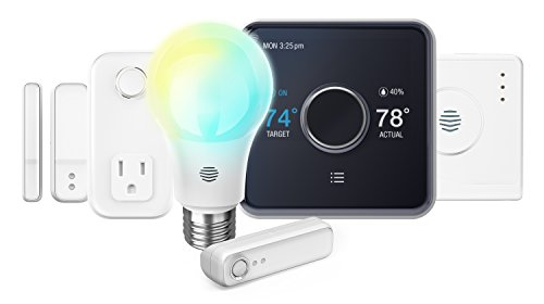 Hive Welcome Home Pack, Smart Home Automation Bundle, Works with Alexa & Google Home, Thermostat Requires C-Wire ()