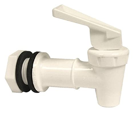 Amazon.com: Tomlinson 1018854 Replacement Cooler Faucet, White (Pack ...