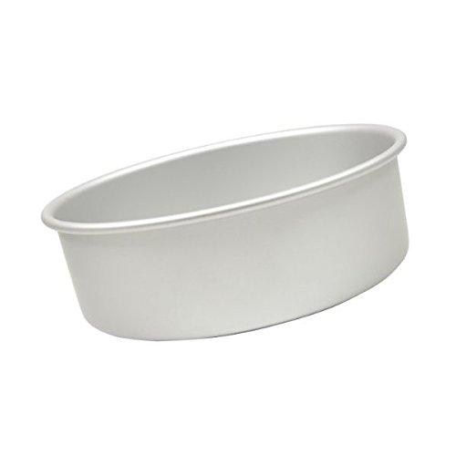 Round cake pan solid bottom 14''x4''