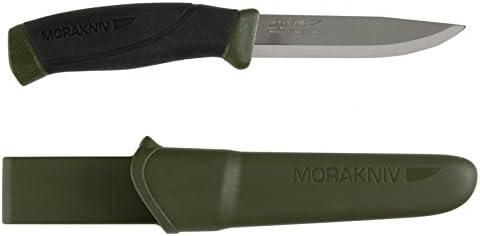 1. Morakniv Companion Fixed Blade Outdoor Knife