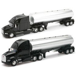 Kenworth Tanker - New-Ray Toys AS12820NR 132 Scale Die-Cast Kenworth Mack Longhaulers Tanker Trucks Assortment