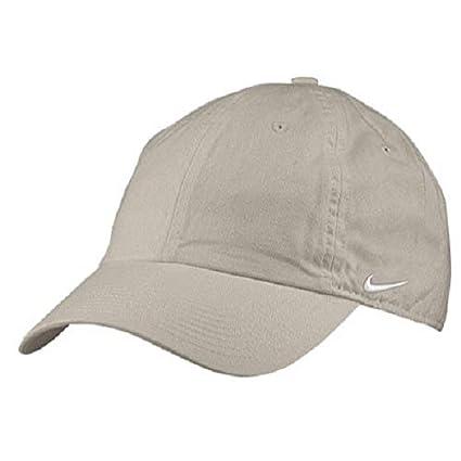 Nike Heritage 86 Cap Gorra de Tenis, Unisex Adulto, Beige (Chino/White