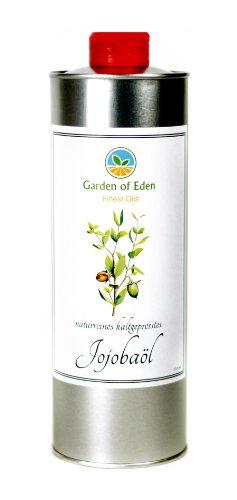 100% naturreines, kaltgepresstes Jojobaöl, 250ml , naturbelassen, ISO 9235 zertifiziert - Jetzt neu mit praktischem Ausgießer