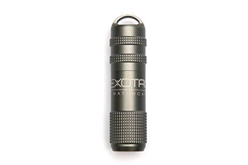Exotac MATCHCAP Firestarter Gunmetal