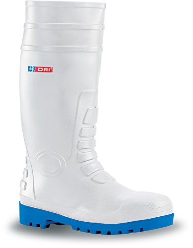 B-Dri Budget Safety Wellington Boot White - UK Size 3