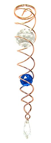 Crystal Twister Gazing Ball Spiral Tail Cyclone Illusion ...
