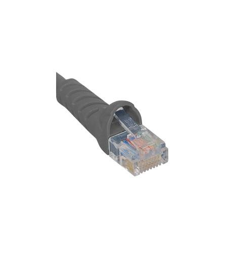ICC PATCH CORD, CAT 5E BOOTED, 25 FT, GRAY
